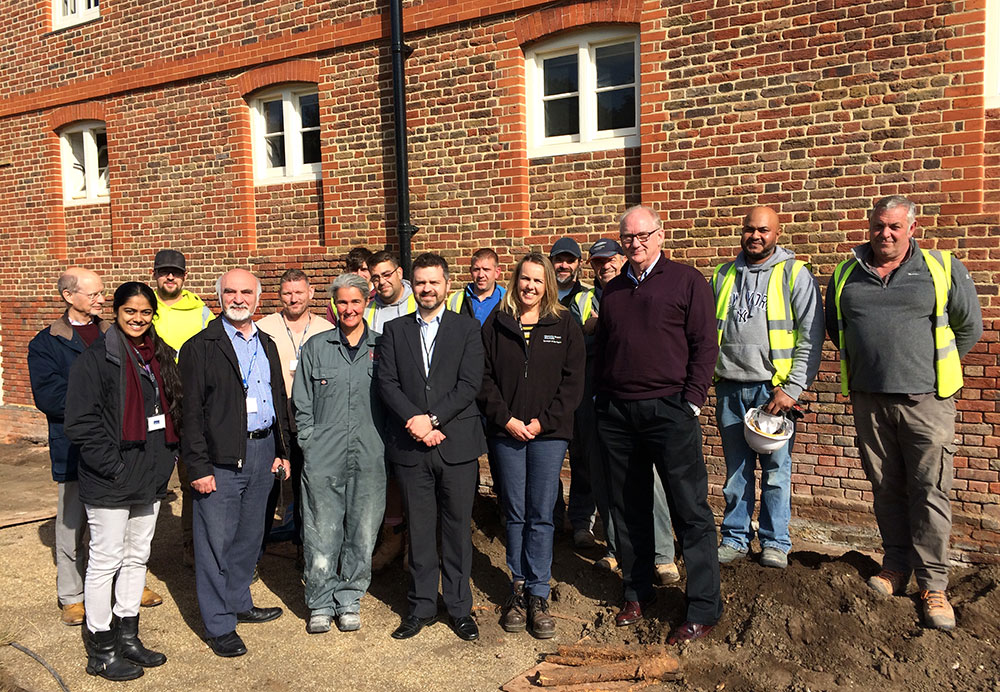 The Barrack Block Project team led by GHK Architects