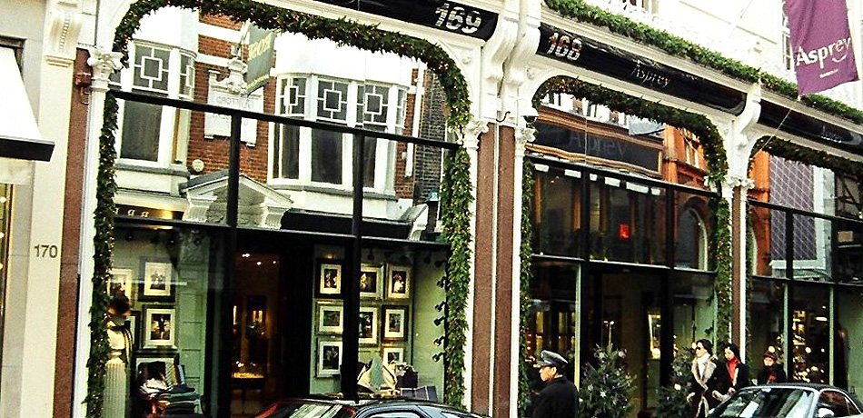 Asprey Store Front London GHK Architects