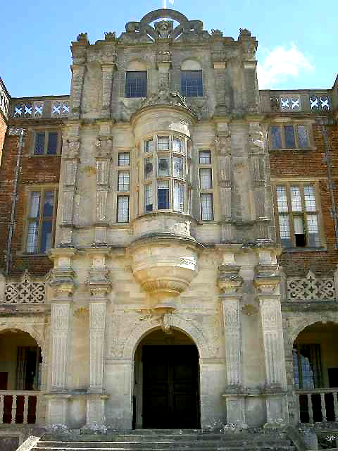 Entrance to Bramshill Mansion GHK Architects