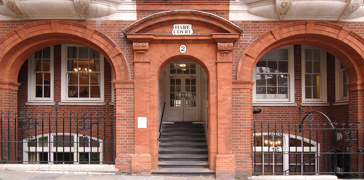 Hare Court ENtrance GHK Architects