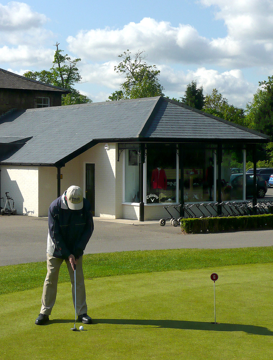 Richmond Golf Club Outbuildings Pro Shop GHK Architects