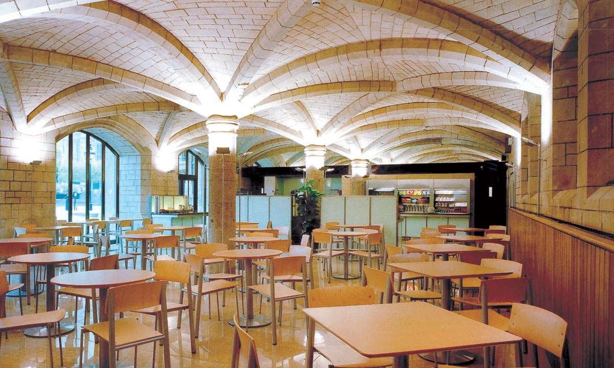 Palace of Westminster tea room GHK Architects